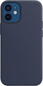 Чехол moonfish MagSafe для iPhone 12 mini, ультрамарин
