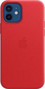 Чехол Apple MagSafe для iPhone 12/12 Pro, кожа, красный (PRODUCT)RED