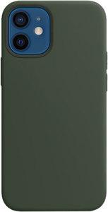 Чехол moonfish MagSafe для iPhone 12 mini, зеленый