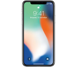Apple iPhone X 256 Гб Серебристый